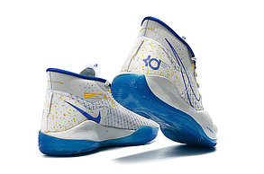 """Баскетбольные кроссовки  Nike KD 12 (XII) """"White-Blue"""" from Kevin Durant , фото 2"""