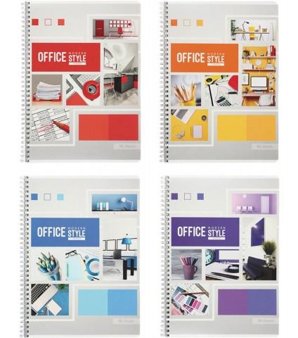 """Тетрадь общая ArtSpace """"Офис. Яркие краски"""", А4, 96 листов в клетку, на спирали"""