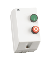 Контактор электромагнитный КМИ-11260 12 А в оболочке 220 В/АС-3 IP54
