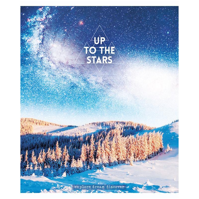 """Тетрадь общая ArtSpace """"Путешествия. Up to the stars"""", А5, 48 листов в клетку, на скрепке"""