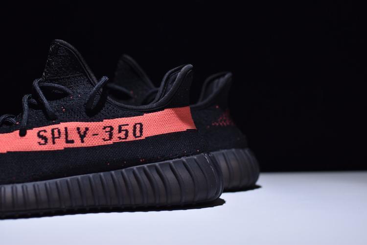 """Adidas Yeezy Boost 350 V2 """"Red Stripe"""" (36-45) - фото 7"""