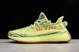 "Adidas Yeezy Boost 350 V2 ""Semi Frozen Yellow"" (36-45)"