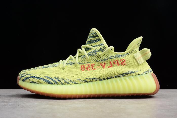 "Adidas Yeezy Boost 350 V2 ""Semi Frozen Yellow"" (36-45) - фото 1"