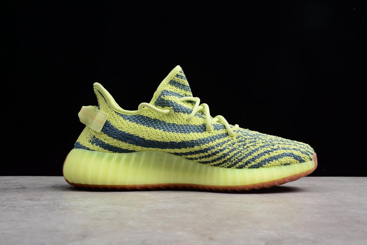 "Adidas Yeezy Boost 350 V2 ""Semi Frozen Yellow"" (36-45) - фото 3"