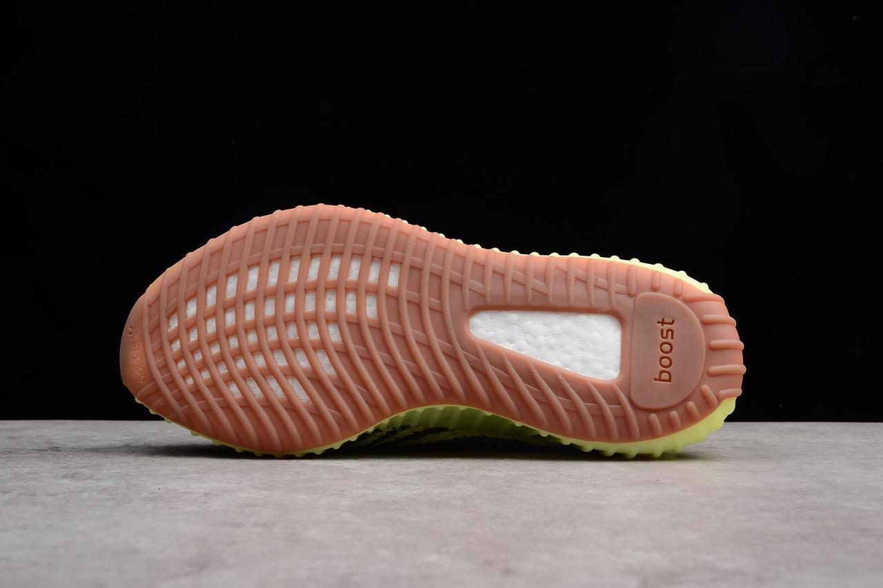 "Adidas Yeezy Boost 350 V2 ""Semi Frozen Yellow"" (36-45) - фото 2"