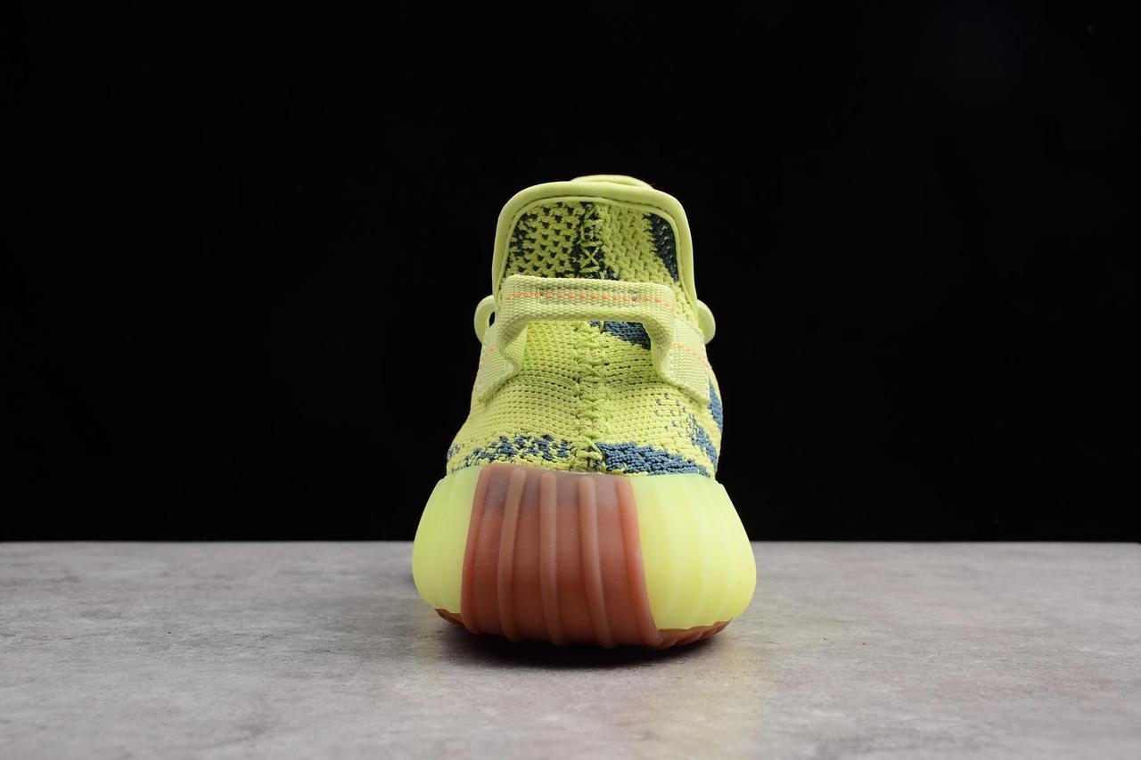 "Adidas Yeezy Boost 350 V2 ""Semi Frozen Yellow"" (36-45) - фото 4"