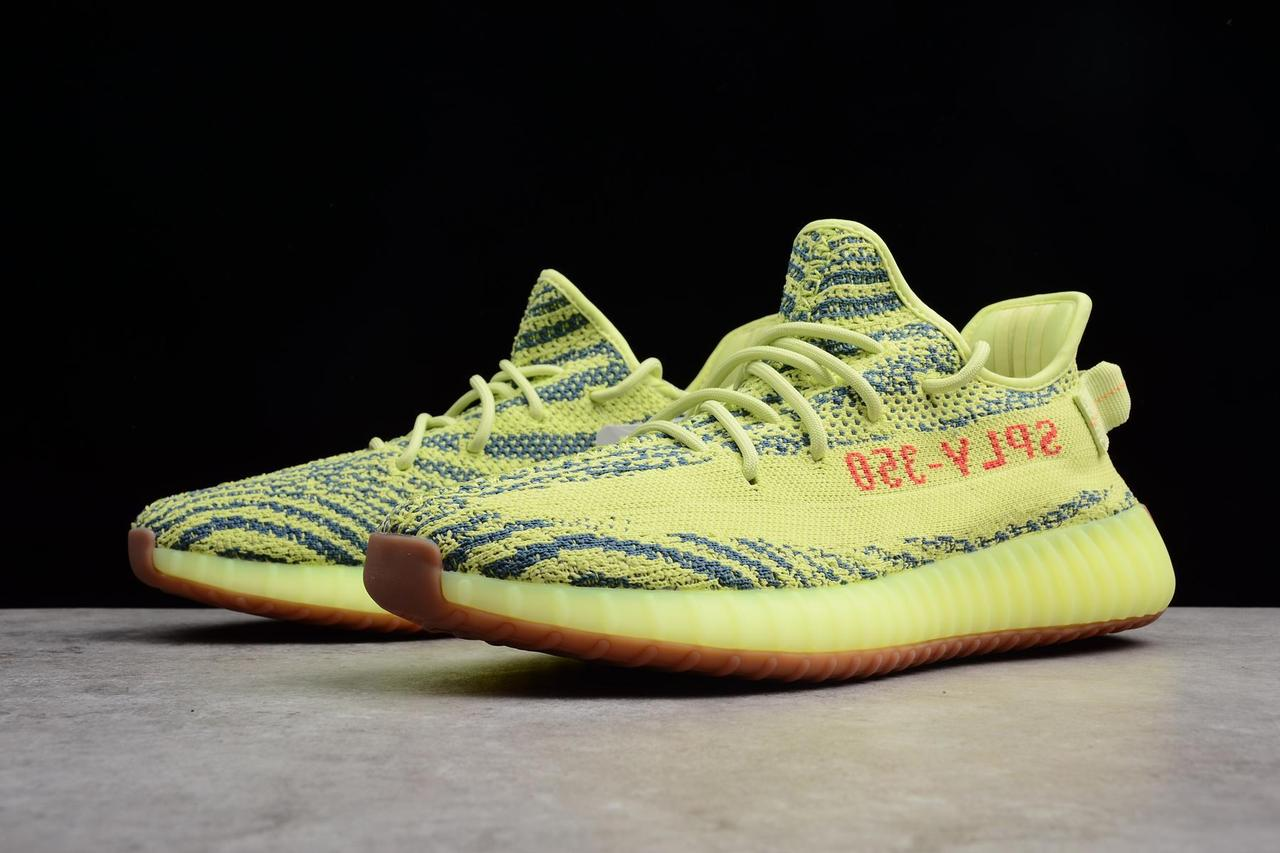 "Adidas Yeezy Boost 350 V2 ""Semi Frozen Yellow"" (36-45) - фото 7"