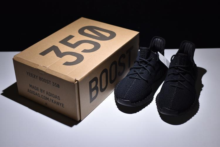 "Adidas Yeezy Boost 350 V2 ""Triple Black"" (36-45) - фото 7"