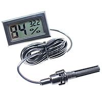 Гигрометр термометр с выносным датчиком для складов инкубаторов теплиц, фото 1
