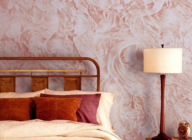 Декоративные краски и покрытие