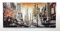 Постер на холсте Time Square