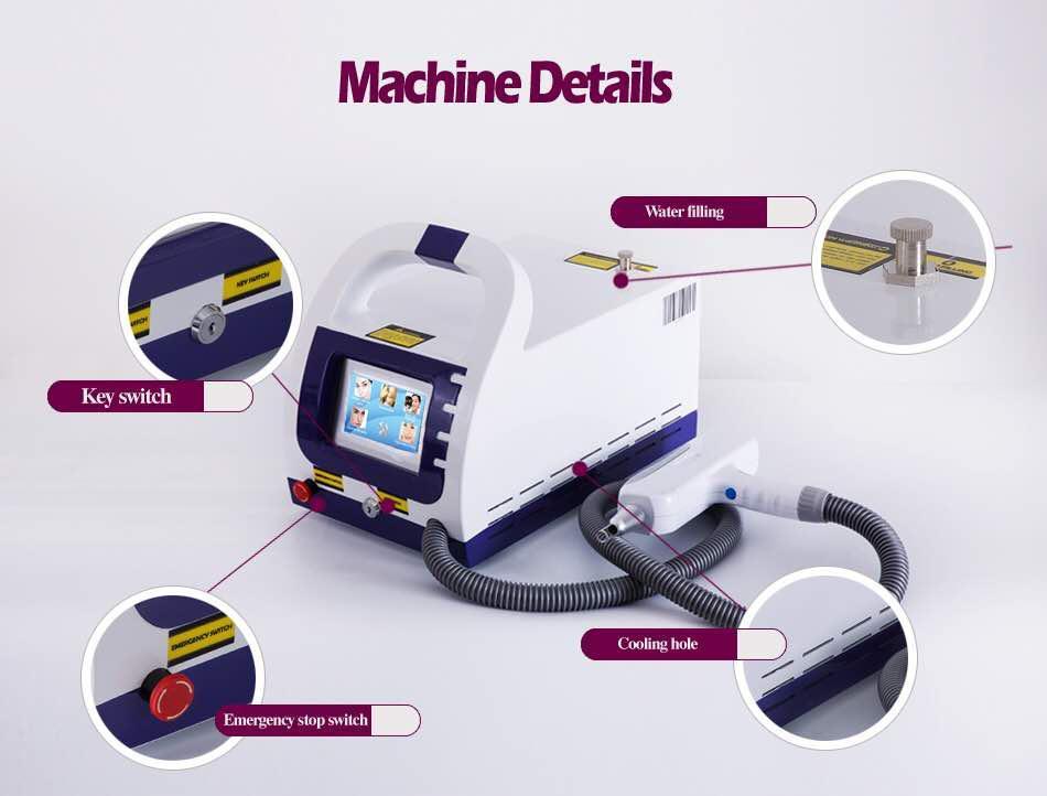 Аппарат лазер неодимовый Для удаления татуажа