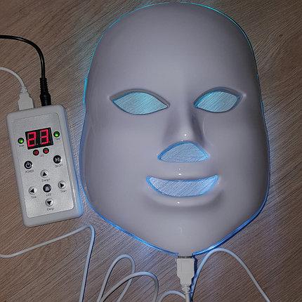 Аппарат, Фотодинамической терапии LED МАСКА 7 цветов, фото 2