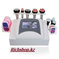 Аппарат 7в1: кавитация, РФ, лазерный липолиз, микротоки,