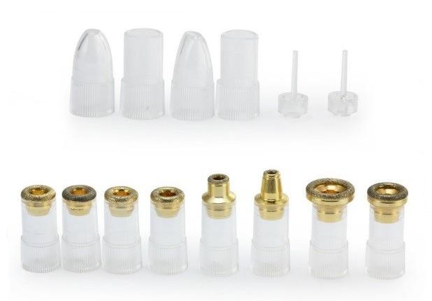 Набор насадок для портативной алмазной микродермабразии