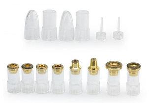 Набор насадок для портативной алмазной микродермабразии, фото 2