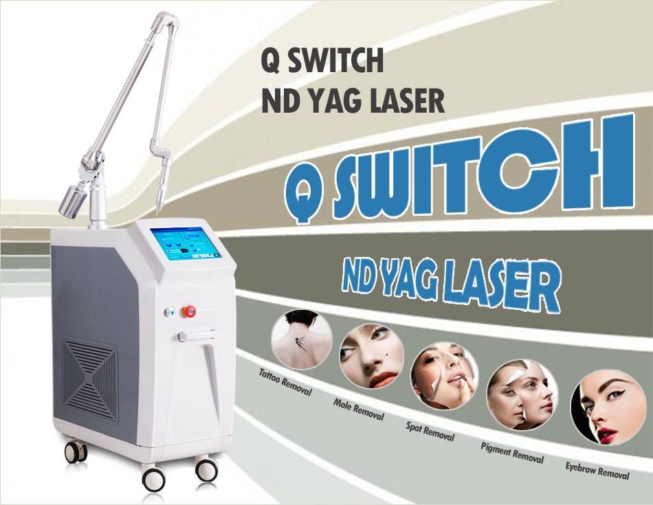 Лазер С переключателем Q Nd Yag(MJQ12)