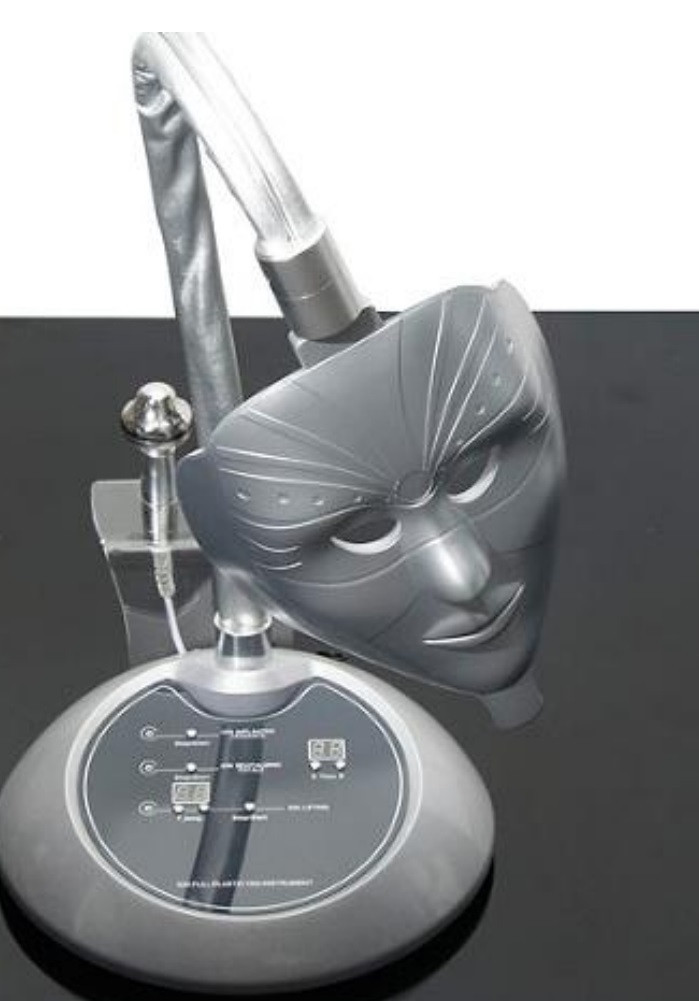 LED маска 3 в 1 настольная