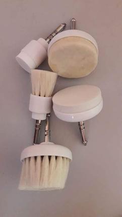 Сменные насадки для Брашера механической чистки лица, фото 2