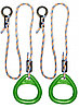 Кольца гимнастические треугольные 02 В зеленый