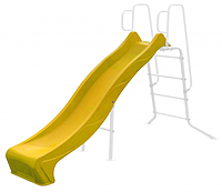 Скат для горки из пластика Rex 2,40 желтый