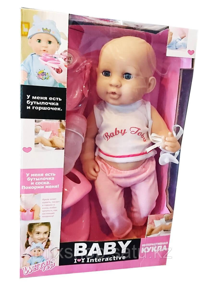 Интерактивная кукла Baby Toby (мальчик и девочка)
