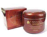 Крем для лица Snail Reparing Cream 100ml. (Jigott) регенерирующий