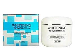 Отбеливающий крем для лица Whitening Activated Cream100ml. (Jicott)