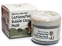 Elizavecca Milky Piggy Carbonated Bubble Clay Mask Очищающая глиняно-пузырьковая маска для лица.