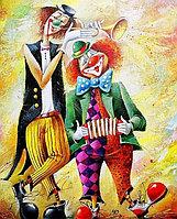 Картины по номерам А2 396 Клоуны Китай