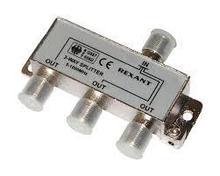 Делитель  ТВ х 3 под F разъем 5-1000 МГц REXANT