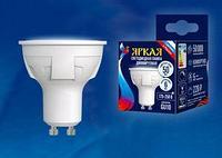 Светодиодная лампа диммируемая LED-JCDR 6W/WW/GU10/FR/DIM PLP01WH картон