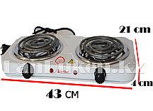 Электрическая двухкомфорочная плита StarChef JX-6243B
