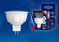 Светодиодная лампа диммируемая LED-JCDR 6W/WW/GU5.3/FR/DIM PLP01WH картон