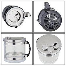 Дистиллятор воды бытовой (Корпус нержавейка, тара стекло), фото 3