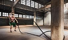 Тренировочный канат для кроссфита 12м диаметр 38 мм купить в Алматы. Спортивные канаты для кроссфита, фото 3