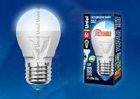 Светодиодная лампа диммируемая LED-G45-6W/NW/E27/FR/DIM PLP01WH картон
