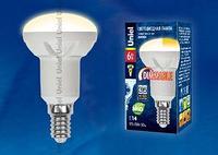 Светодиодная лампа диммируемая LED-R50-6W/NW/E14/FR/DIM PLP01WH картон
