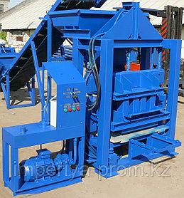 Мини завод Гидравлический вибропресс производства блоков ВПГ-1000