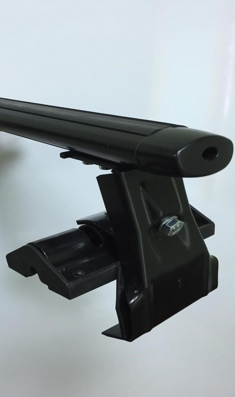 Перекладины для крыши автомобиля с пазами 110см крыло чёрное