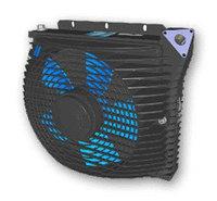 Масляный радиатор/охладитель масла BZEA 300L (24V.)