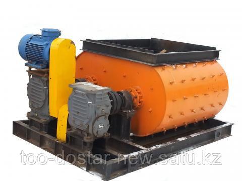 Бетоносмеситель двухвальный БСП-750