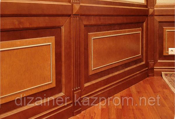 Стеновые и потолочные декор панели из массива, шпона и МДФ на заказ в Астане и Алматы