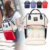 Рюкзак для мамы и малыша с кармашками и креплением на коляску Anello Mommy Original , Алматы
