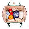 Рюкзак для мамы и малыша с кармашками и креплением на коляску Единорог , Алматы, фото 3