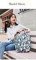 Рюкзак для мамы и малыша с кармашками и креплением на коляску Мишки, Алматы