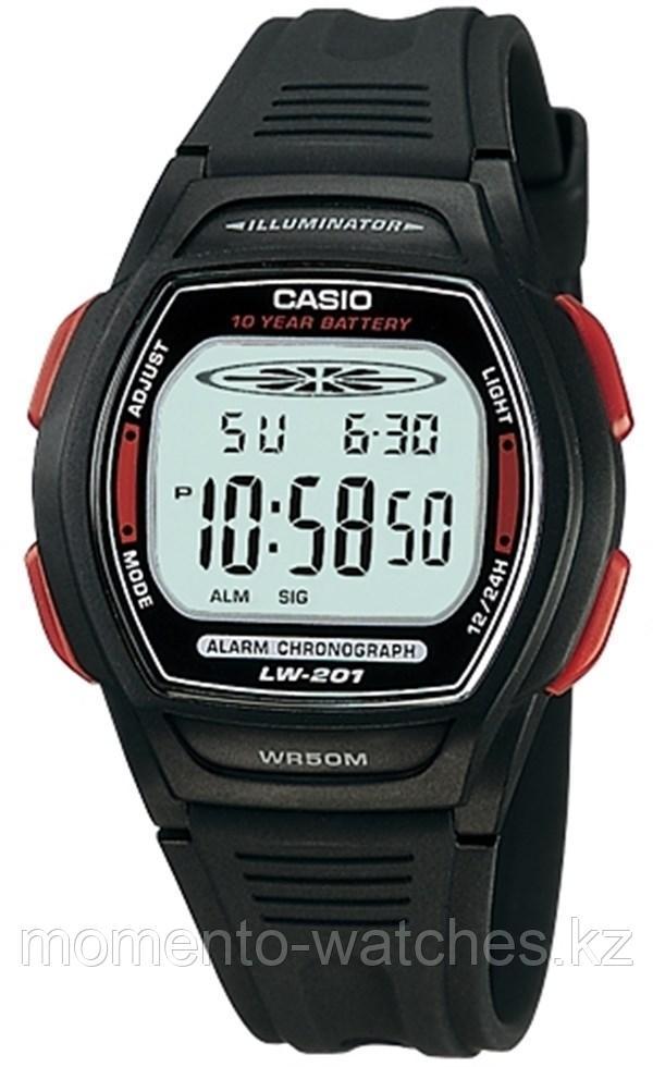 Часы CASIO LW-201-4AVDF