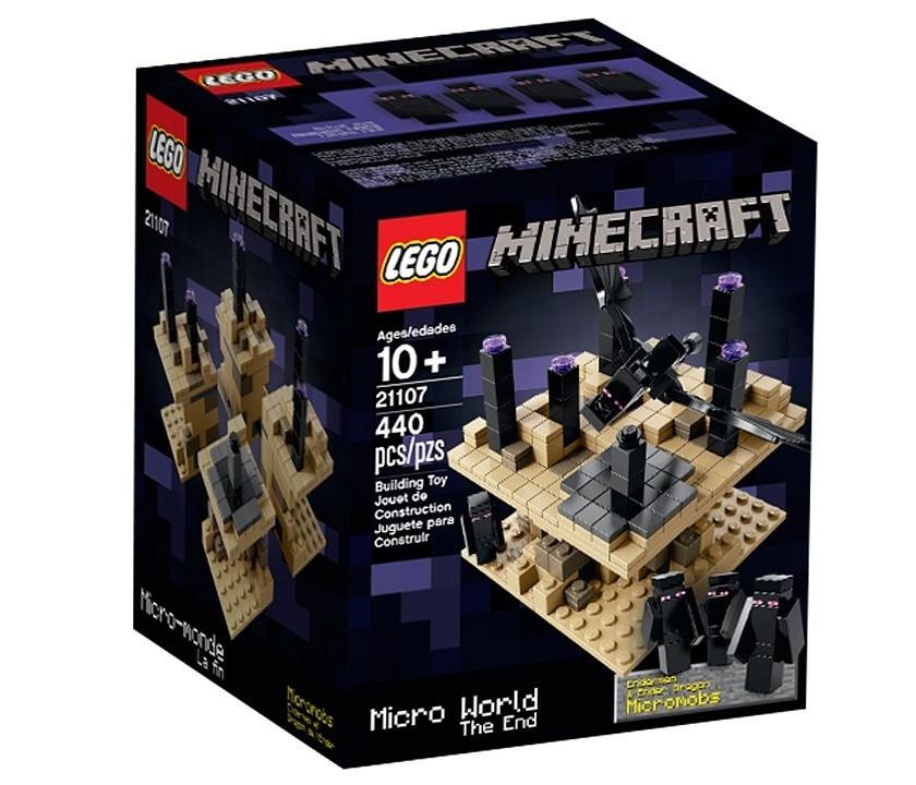 21107 Lego MineCraft микро мир: Край