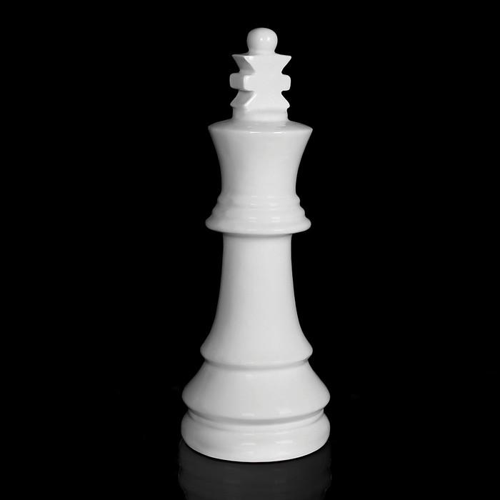 "Фигурка ""Шахматный король"", белая"