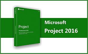 Microsoft Project 2016 Professional, ESD, 1 ПК